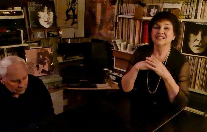 cyklus ŠANSONY Z KARANTÉNY –  vzpomínka na Hanu Hegerovou